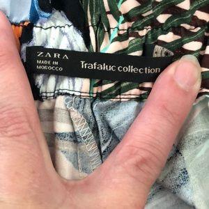 Zara Shorts - Zara Trafaluc collection tropical print shorts